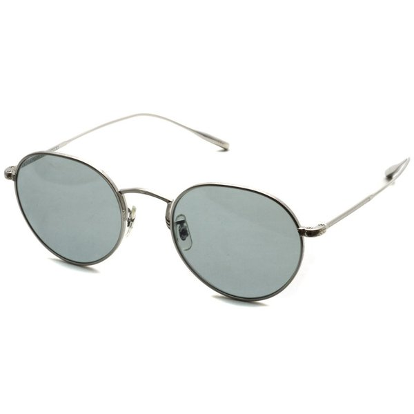 OLIVER PEOPLES オリバーピープルズ ROSSEN  Silver - G Grey.Blue Wash  シルバー - グレーブルーレンズ(ガラスレンズ)|props-tokyo