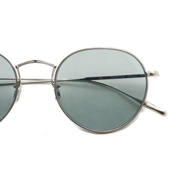 OLIVER PEOPLES オリバーピープルズ ROSSEN  Silver - G Grey.Blue Wash  シルバー - グレーブルーレンズ(ガラスレンズ)|props-tokyo|04