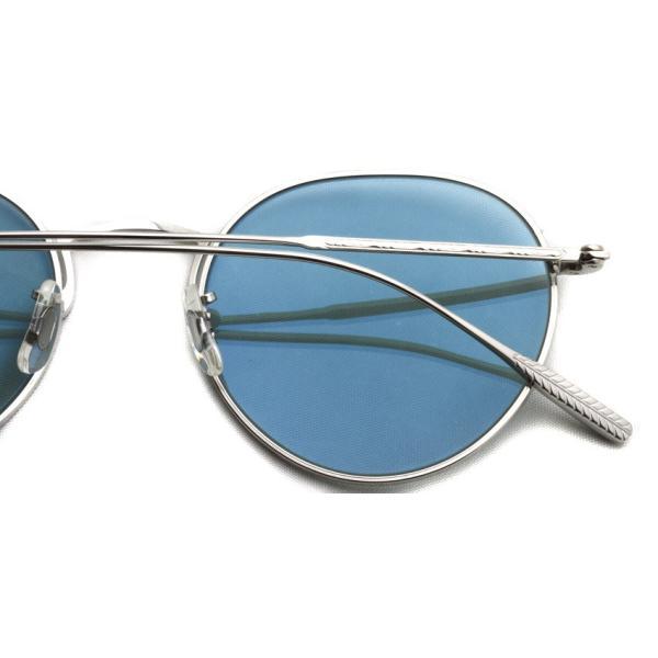 OLIVER PEOPLES オリバーピープルズ ROSSEN  Silver - G Grey.Blue Wash  シルバー - グレーブルーレンズ(ガラスレンズ)|props-tokyo|05
