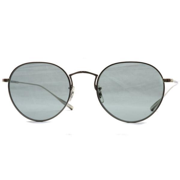 OLIVER PEOPLES オリバーピープルズ ROSSEN  Silver - G Grey.Blue Wash  シルバー - グレーブルーレンズ(ガラスレンズ)|props-tokyo|06