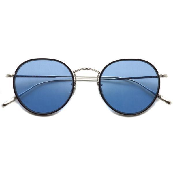 OLIVER PEOPLES オリバーピープルズ ROSSEN  Silver/Black - Blue シルバー/ブラック - ブルーレンズ|props-tokyo|02