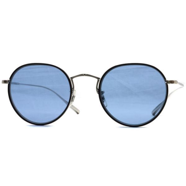 OLIVER PEOPLES オリバーピープルズ ROSSEN  Silver/Black - Blue シルバー/ブラック - ブルーレンズ|props-tokyo|06