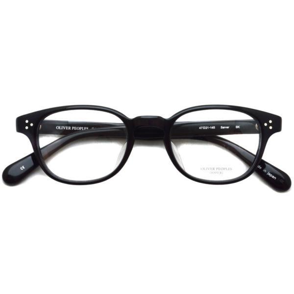 OLIVER PEOPLES オリバーピープルズ SARVER  BK  ブラック ボストンウェリントンフレーム|props-tokyo|02