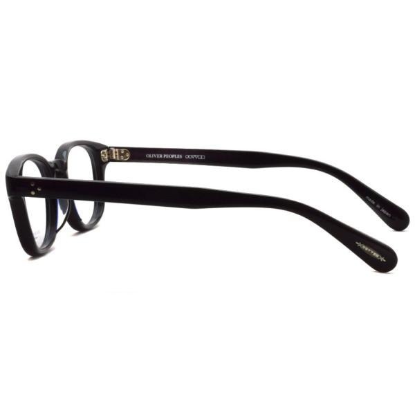 OLIVER PEOPLES オリバーピープルズ SARVER  BK  ブラック ボストンウェリントンフレーム|props-tokyo|03