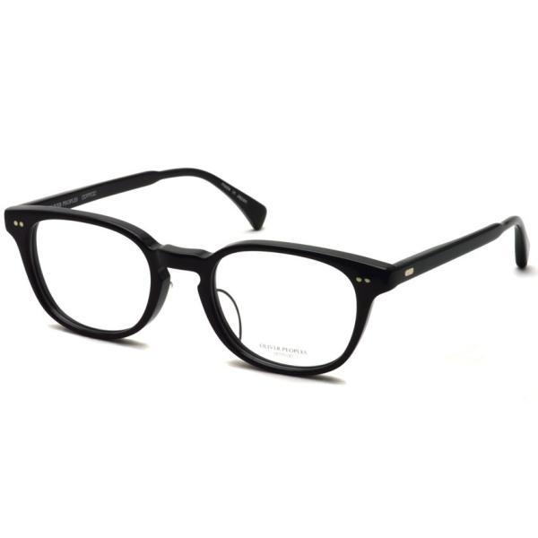 OLIVER PEOPLES オリバーピープルズ SARVER - LA BK ブラック 黒ブチフレーム|props-tokyo