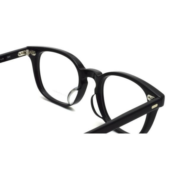 OLIVER PEOPLES オリバーピープルズ SARVER - LA BK ブラック 黒ブチフレーム|props-tokyo|06
