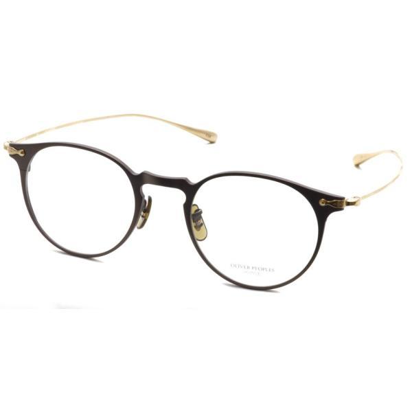 OLIVER PEOPLES オリバーピープルズ SHAWFIELD BROWN ブラウン-ゴールド  メガネ フレーム|props-tokyo