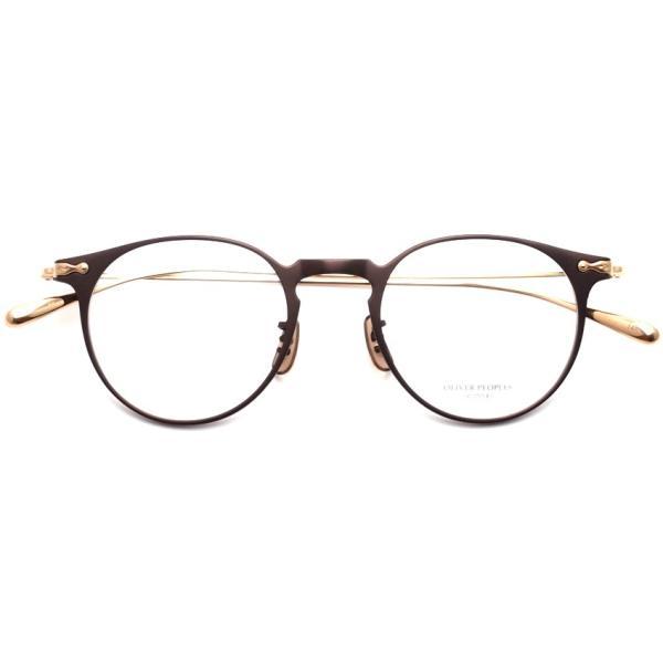 OLIVER PEOPLES オリバーピープルズ SHAWFIELD BROWN ブラウン-ゴールド  メガネ フレーム|props-tokyo|02