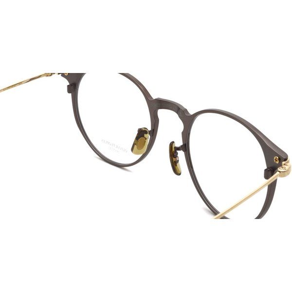 OLIVER PEOPLES オリバーピープルズ SHAWFIELD BROWN ブラウン-ゴールド  メガネ フレーム|props-tokyo|06