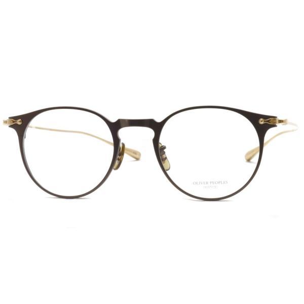 OLIVER PEOPLES オリバーピープルズ SHAWFIELD BROWN ブラウン-ゴールド  メガネ フレーム|props-tokyo|08