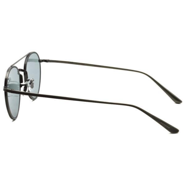 OLIVER PEOPLES THE ROW オリバーピープルズ  ザロウ NIGHTTIME P  アンティークシルバー - ライトグレーブルーガラスレンズ|props-tokyo|03