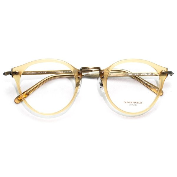 OLIVER PEOPLES オリバーピープルズ OP-505 SLB クリアライトブラウン-アンティークゴールド|props-tokyo|02