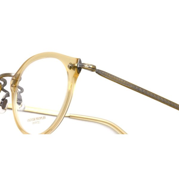 OLIVER PEOPLES オリバーピープルズ OP-505 SLB クリアライトブラウン-アンティークゴールド|props-tokyo|04