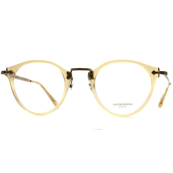 OLIVER PEOPLES オリバーピープルズ OP-505 SLB クリアライトブラウン-アンティークゴールド|props-tokyo|07