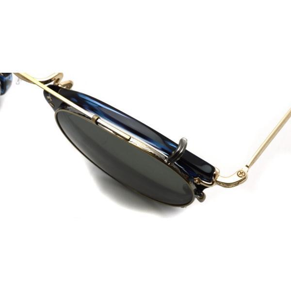 OLIVER PEOPLES オリバーピープルズ OP-505 CLIP クリップ Antique Gold / G15 ※クリップのみ|props-tokyo|04