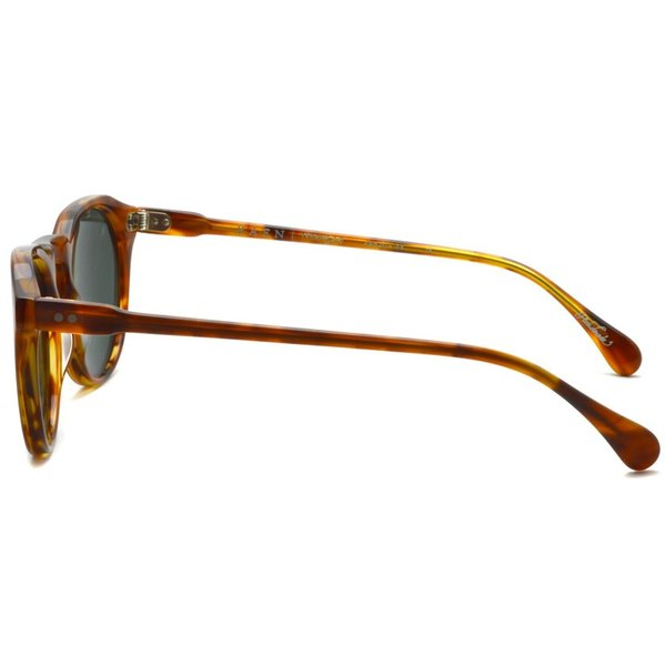 RAEN optics レイン レーン サングラス REMMY 49size  SPLIT FINISH ROOTBEER べっ甲柄-ダークグリーンレンズ|props-tokyo|03