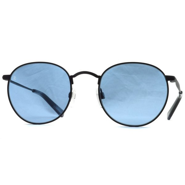 RAEN レイン レーン BENSON  ベンソン BlackAsh - Blue  ブラック-ブルーレンズ ラウンドメタルサングラス|props-tokyo|06