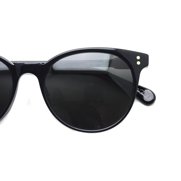 RAEN レイン レーン NORIE  Crystal Black - Dark Smoke ブラック-ダークスモークグレーレンズ サングラス|props-tokyo|04