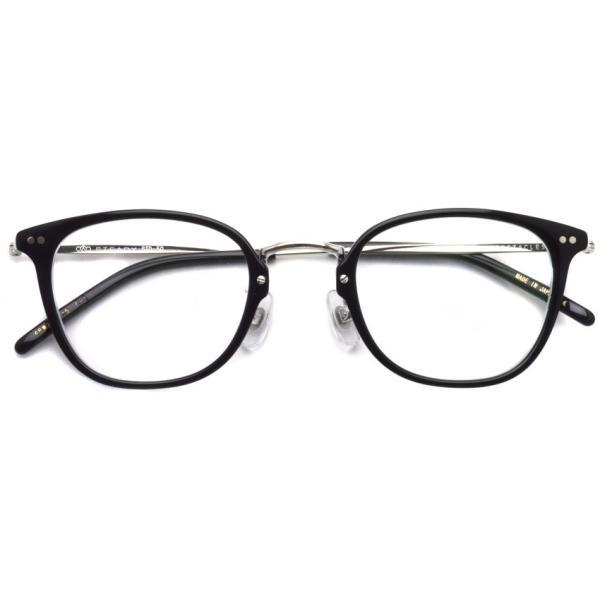 STEADY ステディ STD-50 カラー:1 Black/Clear - Silver  ブラック/クリア - シルバー メガネフレーム【送料無料】|props-tokyo|02