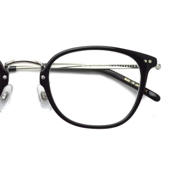 STEADY ステディ STD-50 カラー:1 Black/Clear - Silver  ブラック/クリア - シルバー メガネフレーム【送料無料】|props-tokyo|04
