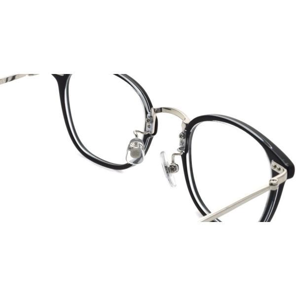 STEADY ステディ STD-50 カラー:1 Black/Clear - Silver  ブラック/クリア - シルバー メガネフレーム【送料無料】|props-tokyo|05