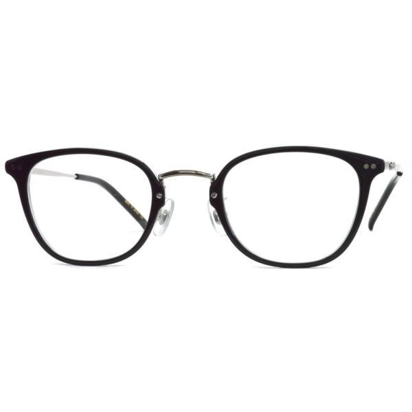 STEADY ステディ STD-50 カラー:1 Black/Clear - Silver  ブラック/クリア - シルバー メガネフレーム【送料無料】|props-tokyo|06