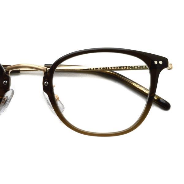 STEADY ステディ STD-50 カラー:4  BrownFade - Shirring Gold  ブラウンフエード - シャーリングゴールド メガネフレーム【送料無料】|props-tokyo|04