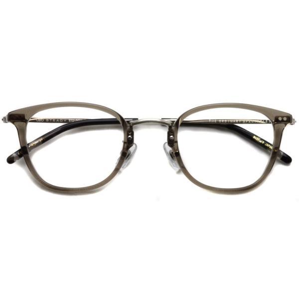 STEADY ステディ STD-50 カラー:5  ClearGrey - Shirring Silver  クリアグレー - シャーリングシルバー メガネフレーム【送料無料】|props-tokyo|02