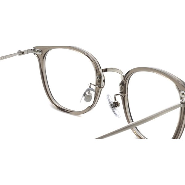STEADY ステディ STD-50 カラー:5  ClearGrey - Shirring Silver  クリアグレー - シャーリングシルバー メガネフレーム【送料無料】|props-tokyo|05