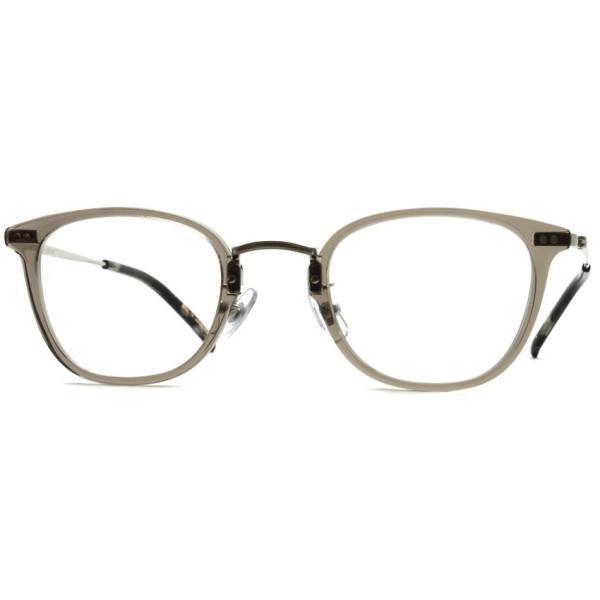 STEADY ステディ STD-50 カラー:5  ClearGrey - Shirring Silver  クリアグレー - シャーリングシルバー メガネフレーム【送料無料】|props-tokyo|06