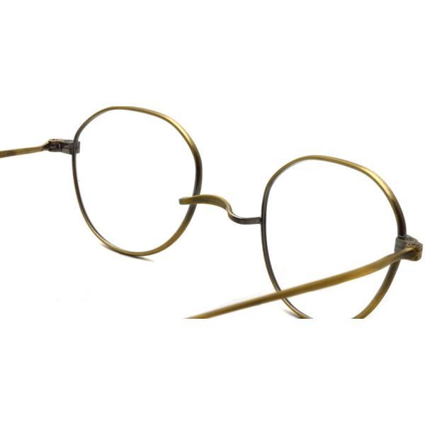 STEADY ステディ STD-53   カラー:2 Antique Gold アンティークゴールド  一山フレーム|props-tokyo|04