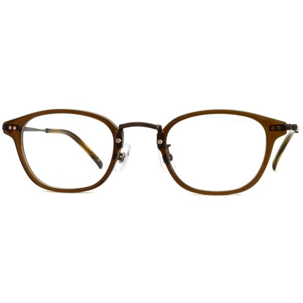 STEADY ステディ STD-70 カラー:4 Brown - BrownMetal  ブラウン - ブラウンメタル コンビネーション メガネフレーム|props-tokyo|06