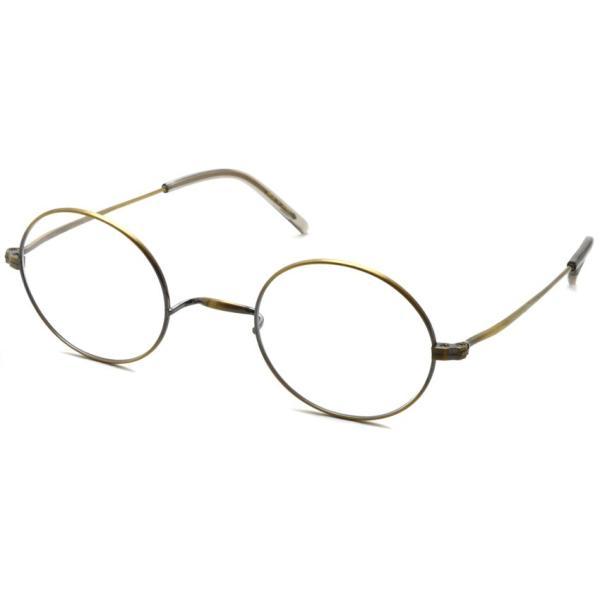 STEADY ステディ STD-10 カラー:4 Antique Gold アンティークゴールド 丸メガネ ラウンド フレーム【送料無料】|props-tokyo