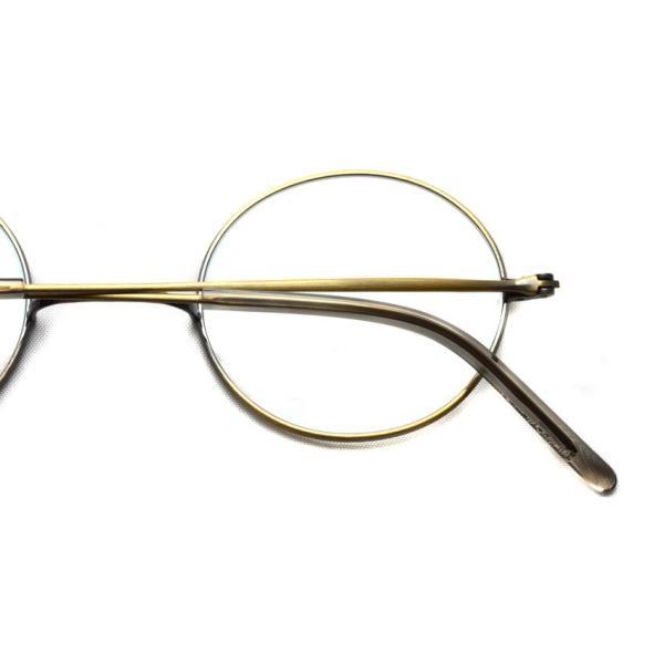 STEADY ステディ STD-10 カラー:4 Antique Gold アンティークゴールド 丸メガネ ラウンド フレーム【送料無料】|props-tokyo|04