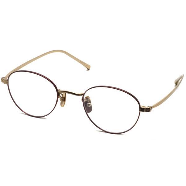 STEADY ステディ STD-35 カラー:5 Gold / Staining Brown ゴールド / ブラウン ボストン フレーム【送料無料】|props-tokyo
