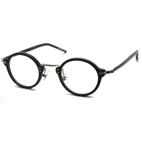 STEADY ステディ STD-36 カラー:1 Black/Shirring Gold ブラック/シャーリングゴールド メガネ フレーム【送料無料】|props-tokyo