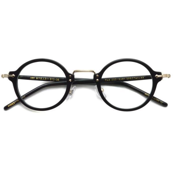 STEADY ステディ STD-36 カラー:1 Black/Shirring Gold ブラック/シャーリングゴールド メガネ フレーム【送料無料】|props-tokyo|02