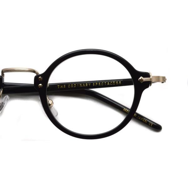 STEADY ステディ STD-36 カラー:1 Black/Shirring Gold ブラック/シャーリングゴールド メガネ フレーム【送料無料】|props-tokyo|04