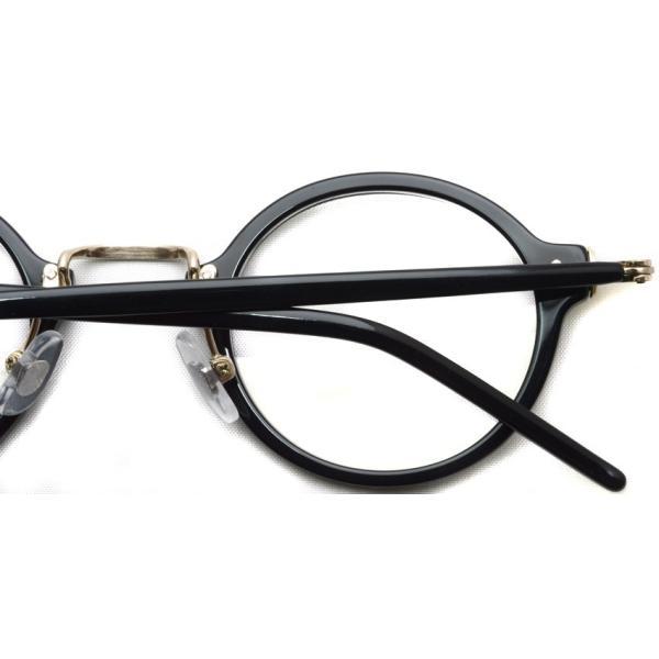 STEADY ステディ STD-36 カラー:1 Black/Shirring Gold ブラック/シャーリングゴールド メガネ フレーム【送料無料】|props-tokyo|05