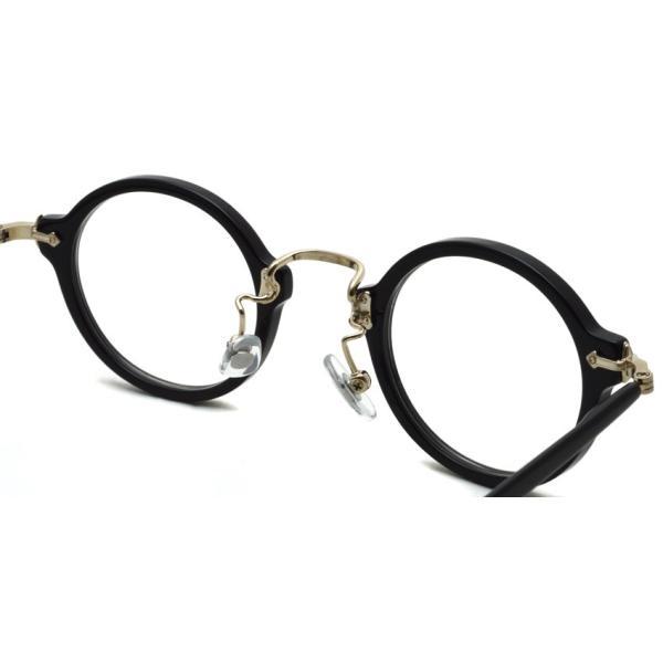 STEADY ステディ STD-36 カラー:1 Black/Shirring Gold ブラック/シャーリングゴールド メガネ フレーム【送料無料】|props-tokyo|06