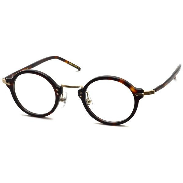 STEADY ステディ STD-36 カラー:2 Brown Demi / Shirring Gold ブラウンデミ/シャーリングゴールド メガネ フレーム【送料無料】|props-tokyo