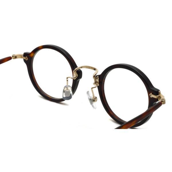 STEADY ステディ STD-36 カラー:2 Brown Demi / Shirring Gold ブラウンデミ/シャーリングゴールド メガネ フレーム【送料無料】|props-tokyo|06