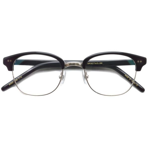 STEADY ステディ STD-40 カラー:2 Black / Silver ブラック / シルバー メガネ フレーム【送料無料】|props-tokyo|02