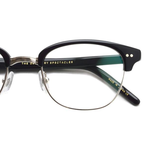 STEADY ステディ STD-40 カラー:2 Black / Silver ブラック / シルバー メガネ フレーム【送料無料】|props-tokyo|04