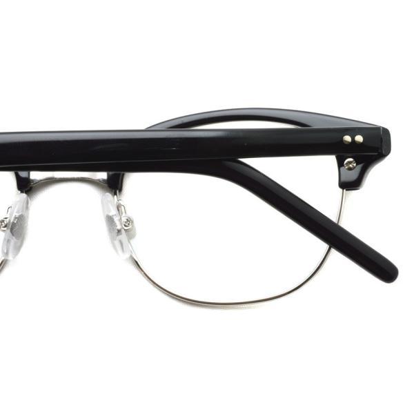 STEADY ステディ STD-40 カラー:2 Black / Silver ブラック / シルバー メガネ フレーム【送料無料】|props-tokyo|05