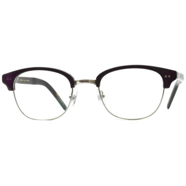 STEADY ステディ STD-40 カラー:2 Black / Silver ブラック / シルバー メガネ フレーム【送料無料】|props-tokyo|06