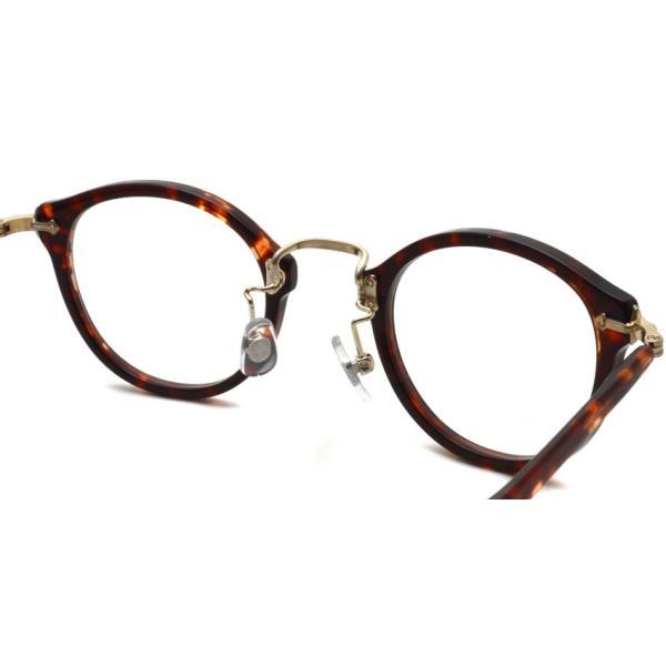 STEADY ステディ STD-16 PT カラー:2 Brown Demi/ Shirring Gold ブラウンデミ/シャーリングゴールド メガネ フレーム【送料無料】|props-tokyo|06