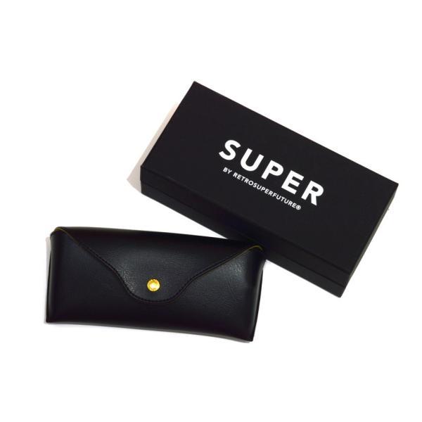 SUPER BY RETROSUPERFUTURE サングラス AMERICA アメリカ ICM ブラック-ブルーターコイズレンズ props-tokyo 06
