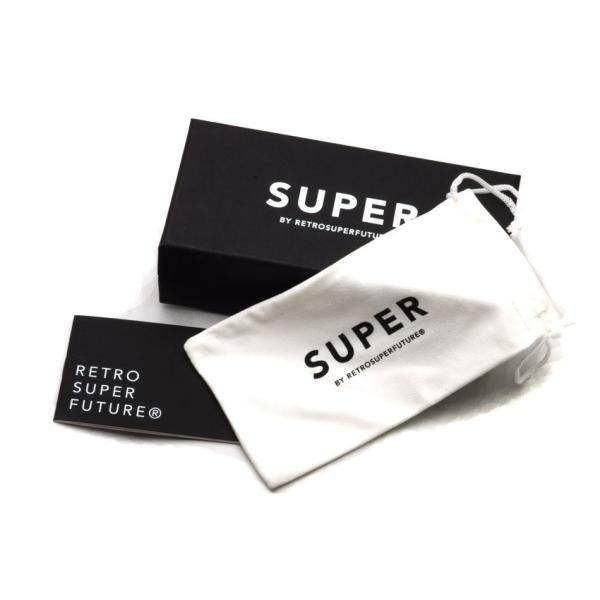 SUPER BY RETROSUPERFUTURE サングラス CLASSIC クラシック 002 ブラック-ダークグレーレンズ R(55)サイズ props-tokyo 06