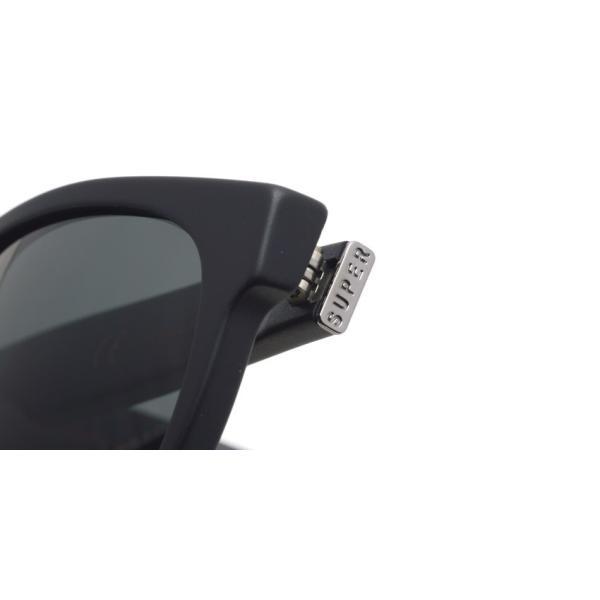 SUPER BY RETROSUPERFUTURE サングラス CLASSIC クラシック 183 マットブラック-ダークグレーレンズ R(55)サイズ|props-tokyo|04